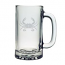 Crab Etched Sports Beer Mug Set