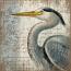 Blue Heron Wall Art