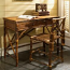 Coastal Rattan  Desk And Chair Set