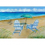 Adirondack Chairs Door Mat