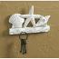 Shell Key Holder with Hooks