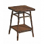 Coastal Bamboo Square Side Table