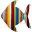 Tropical Fish Wooden Plaque