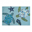 Imperial Coast Sea Turtle Rug