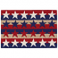 Liora Manne Frontporch Stars & Stripes Indoor/Outdoor Rug Red 24 in. x 60 in.