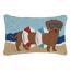 Dachshund In Tube Beach Hook Pillow