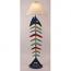 Coastal Lamp Bonefish Floor Lamp