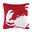 Red Crab Hook Pillow