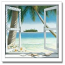 Personalized Our Island Getaway Framed Print