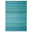 Cancun - Turquoise & Moss Green Indoor Outdoor Rug