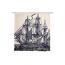 Thomas Paul Ship Shower Curtain