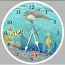 Under The Sea Clock Round
