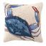 Single Crab Hook Pillow