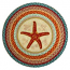 Starfish Round Patch Rug