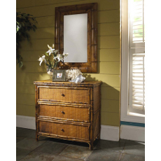 Coastal 3 Drawer Side Cabinet