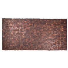 Mather Exotic Wood Rug - Natural 36 x 71