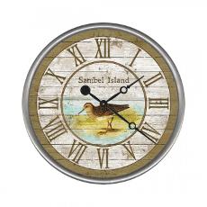 Personalized Sandpiper Clock