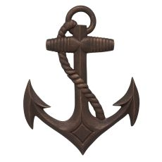 Nautical Anchor Wall Decor, Oil Rubbed Bronze