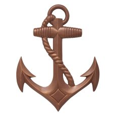 Anchor Wall Decor, Classic Copper