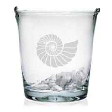 Nautilus Shell Ice Bucket, 8in.,
