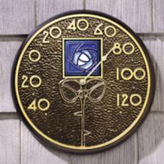 Blue Dard Hunter Rose Thermometer