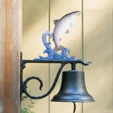 Large Bell with Fish