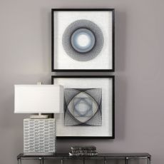 Uttermost String Duet Geometric Art S/2