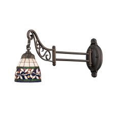 Mix-N-Match 1 Light Swingarm In Tiffany Bronze