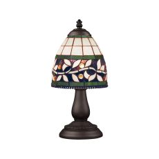 Mix-N-Match 1 Light Table Lamp In Tiffany Bronze