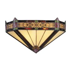 Filigree 2 Light Wall Sconce In Aged Bronze