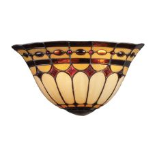 Diamond Ring 2 Light Wall Sconce In Burnished Copper