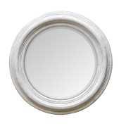 Uttermost Joshua Ivory Round Wooden Mirror