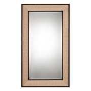 Uttermost Barstow Woven Linen Oversized Mirror