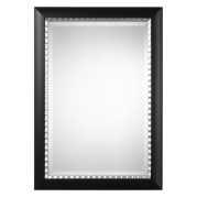 Uttermost Bauman Matte Black Mirror