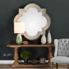 Uttermost Giada Large Aged Ivory Mirror