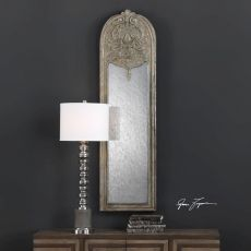 Marecchia Antiqued Silver Mirror