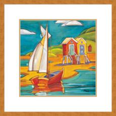 CABANAS Giclee Print in Wood Frame