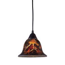 Firestorm 1 Light Led Pendant In Dark Rust