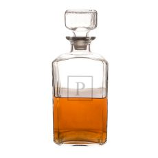 Personalized 34 Oz. Glass Decanter