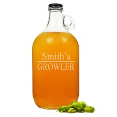Personalized 64 Oz. Home Brew Beer Growler