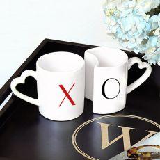 10 Oz. Xoxo Coffee Mug Set