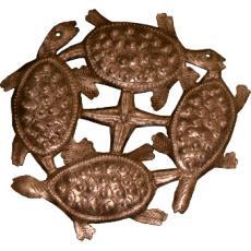 Four Turtles Sculpture