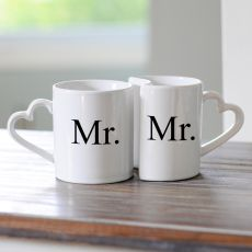 Mr. & Mr. Coffee Mug Set