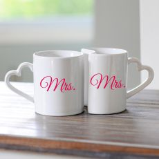 Mrs. & Mrs. Coffee Mug Set