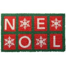 Noel Hand Woven Coconut Fiber Doormat