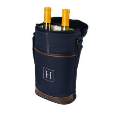 Navy Wine Bottle Cooler