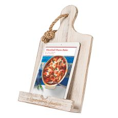 Personalized Brown Wooden Ipad & Recipe Stand