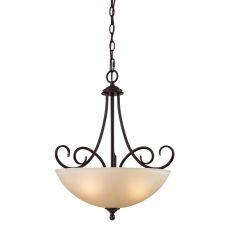 Chatham 3 Light Large Pendant In Oil Rubbed Bronze