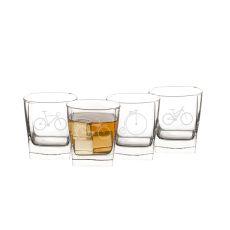 10.5 Oz. Bicycle Rocks Glasses