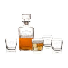 Full Of Boos 5 Pc. Decanter Set